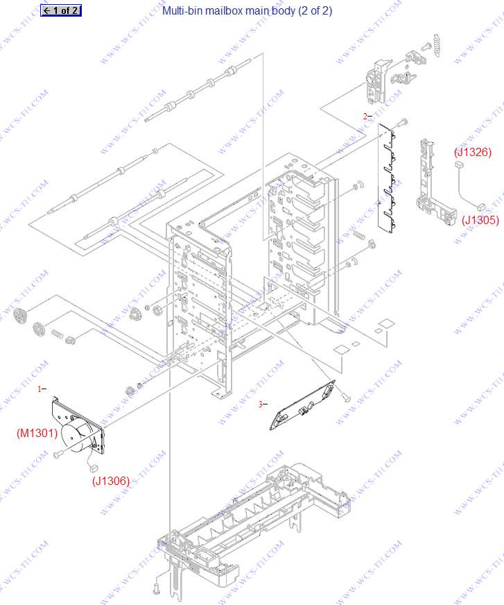 Diagram Hp Laserjet P4015