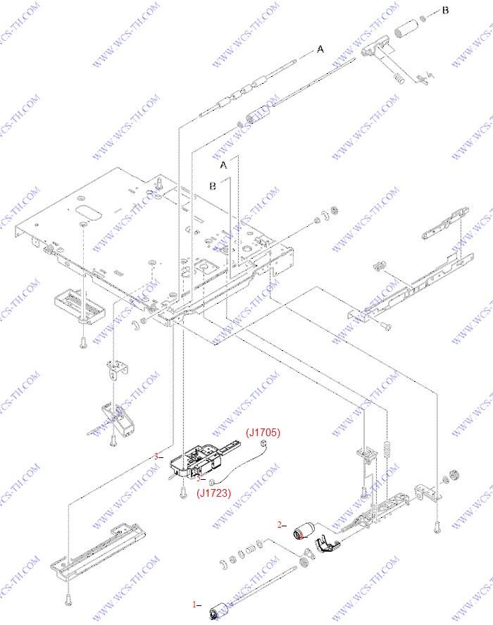 Diagram Hp Laserjet P4515